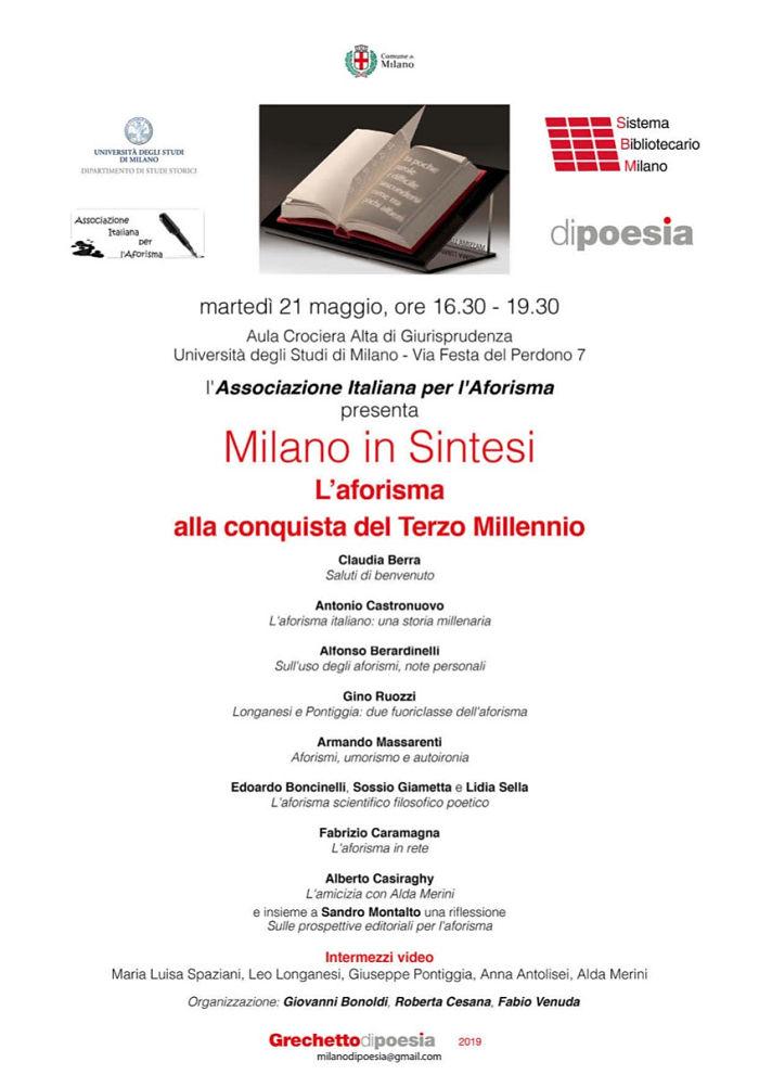 Milano In Sintesi